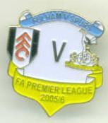 v Fulham 05/06 Away
