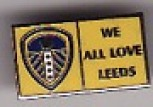 We All Love Leeds small rectangle