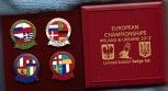 England Match Badges - EURO 2012 box set