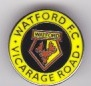 Vicarage Road small round - yellow