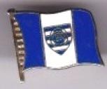 Blue / White Flag