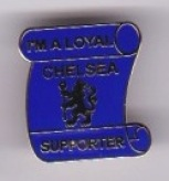 Loyal Supporter Scroll All Blue
