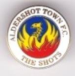 Aldershot Town - Small Round - white Phoenix