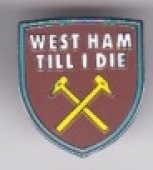 West Ham Til I Die Large Shield