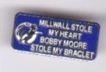 Bobby Moore stole my bracelet