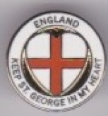 Keep St. George in my Heart - Heart in Round