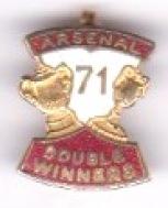 Arsenal - Double Winners 71 - Coffer
