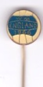 England - World Cup 1966 Pin (German) Blue / White