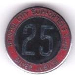SC 25 Years - Large Round