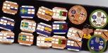 50 different International match badges