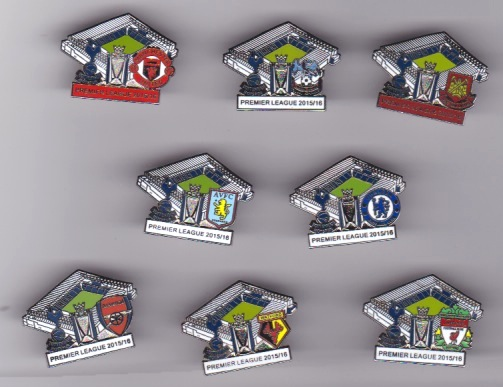 15/16 5 x Spurs match badges