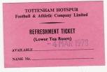 77/8 Refreshment Ticket