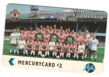 Mercury Phonecard - Squad