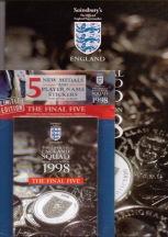 1998 Esso Coins set plus extra 5