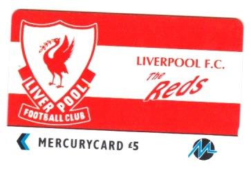 Mercury Phonecard - Badge