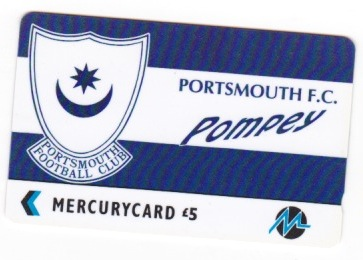 Mercury Phonecard - Badge