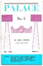 Supporters Club Magazine Dec 1968