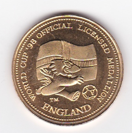 World Cup 1998 Official Coin