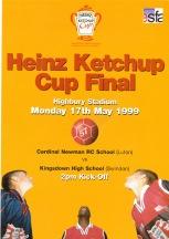 Heinz Cup Final 1999 programme
