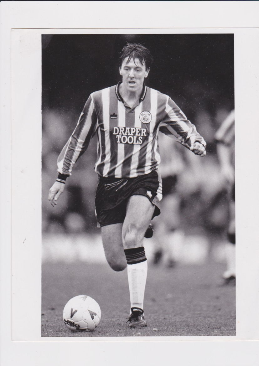 Matt le Tissier photo b&w