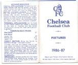 Fixture Card 86/7