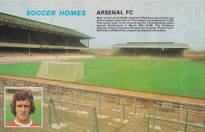 Highbury FLR photo 70s