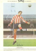 Typhoo card Ron Davies