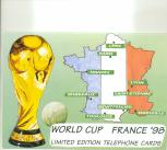 World Cup 1998 Phonecards