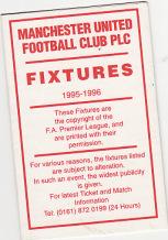 Fixture Card 95/6
