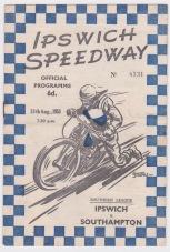Speedway - Programme