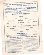 Q.P.R. v Portsmouth - 1943/1944