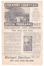 Stockport v Tranmere - 1946/1947