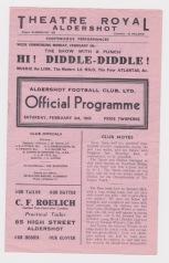 Aldershot v West Ham - 1944/1945