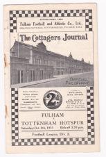 Fulham v Tottenham - 1935/1936