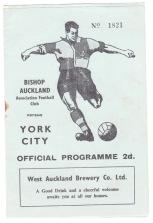 Bishop Auckland v York City - 1954/1955