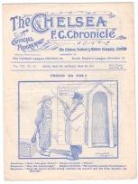 Chelsea v Leyton Orient - 1911/1912
