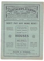 Fulham v Burnley - 1911/1912