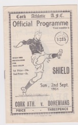 Cork Athletic v Bohemians (Eire) - 1951/1952