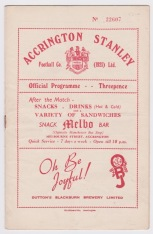 Accrington Stanley v Bradford City - 1953/1954