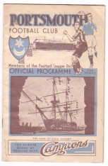 Portsmouth v Stoke City - 1934/1935