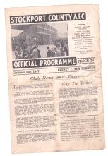 Stockport v New Brighton - 1947/1948